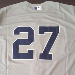 newest 5bdce 9950a New York Yankees Giancarlo Stanton away jersey NWT